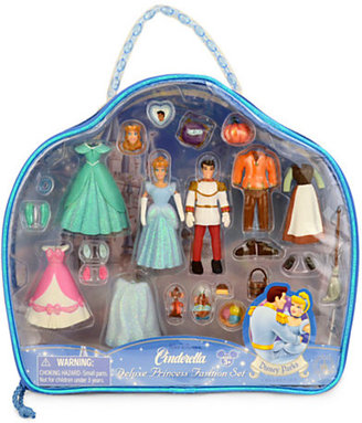 Disney Cinderella Figurine Deluxe Fashion Play Set