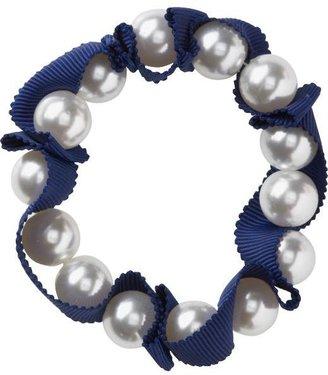 Old Navy Women's Faux-Pearl Ribbon Bracelets
