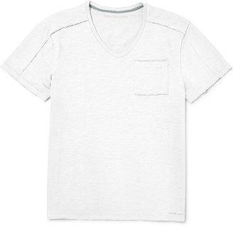 Calvin Klein Jeans Shirt, Short-Sleeve V-Neck T-Shirt