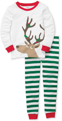 Carter's Baby Pajamas, Baby Boys or Baby Girls 2-Piece Christmas PJs