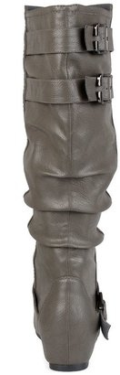 Journee Collection Tiffany Wide Calf Slouch Boots - Women