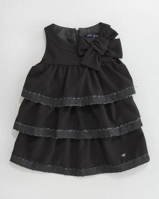 Lili Gaufrette Lapage Tiered Dress, Sizes 2-6