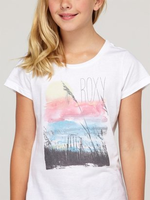 Roxy Girls 7-14 At The Beach Harmony Tee Shirt