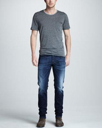 Diesel Shioner Faded Slim Jeans