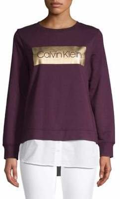 Calvin Klein Classic Long-Sleeve Sweatshirt