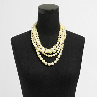 J.Crew Factory Multistrand pearl necklace
