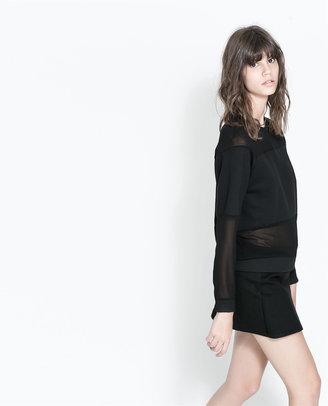 Zara Combined Stripe Sweater