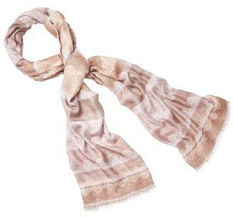 LOFT Lace Stripe Jacquard Scarf
