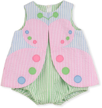 Florence Eiseman Flyaway Butterfly Playsuit, 12-24 Months