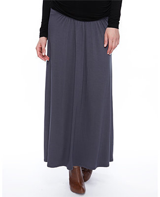 Forever 21 Love21 Maternity Jersey Knit Maxi Skirt