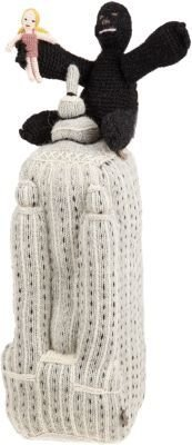 Oeuf Knit Empire State Building with King Kong