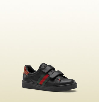 Gucci Sneaker With Web Detail