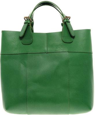 Pieces Premium Naysa Leather Shopper