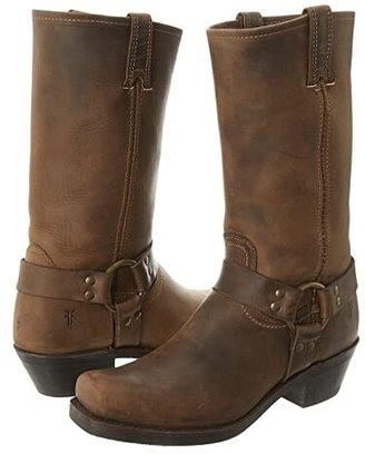 Frye Harness 12R (Black) Women's Pull-on Boots