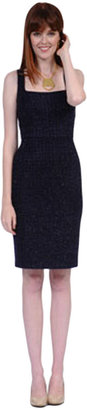 Kay Unger Lurex Tweed Skirt
