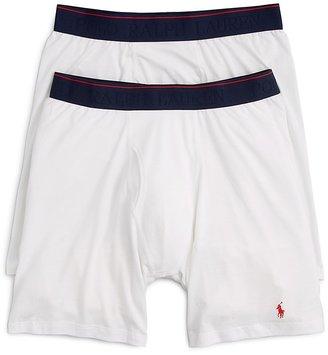 Ralph Lauren Supreme Comfort Long Leg Boxer Briefs, Pack of 2 $39.50 thestylecure.com