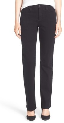 Petite Women's Nydj 'Barbara' Stretch Bootcut Jeans $114 thestylecure.com