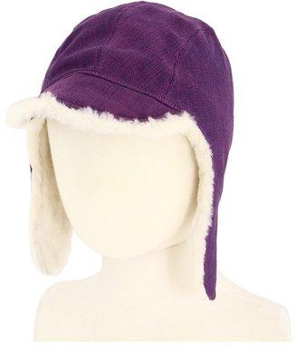 UGG Aviator Hat (Toddler/Little Kids) (Pansy) - Hats