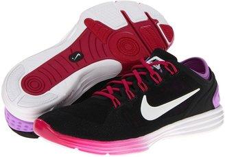 Nike Lunar Hyperworkout XT+ (Black/Sport Fuchsia/Atomic Purple/White) - Footwear