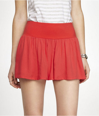 Express Knit Waistband Skort