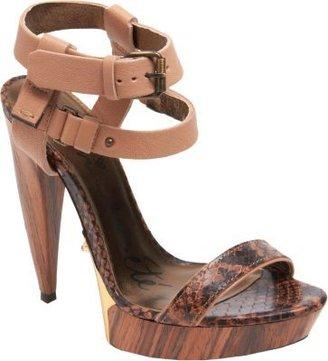 Lanvin Double Ankle Strap Platform Sandal