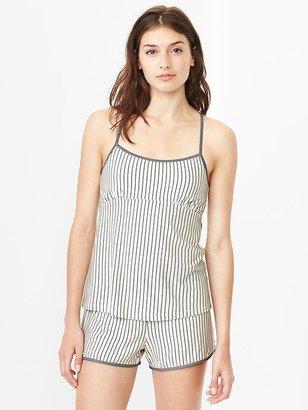 Gap Modal stripe cross-back cami
