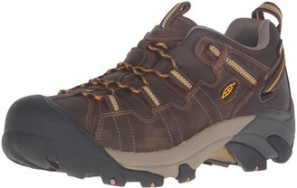 Keen Men's Targhee II WP Cascade Brown/Golden Yellow Hiking Boot - 10.5 2E US