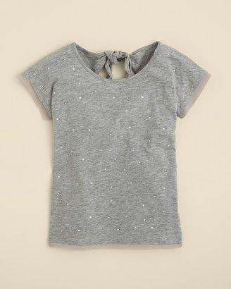 DKNY Girls' Marci Rhinestone Top - Sizes S-XL