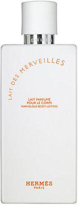 Hermes Lait des Merveilles Perfumed Body Lotion/6.5 oz.