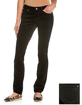 Jessica Simpson Forever Skinny Low-Rise Corduroy Pants