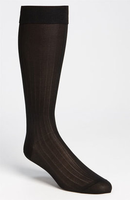 Men's Pantherella Silk Ribbed Formal Socks $45 thestylecure.com