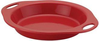 Rachael Ray Red Stoneware 9-in. Pie Baker