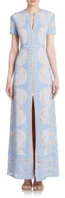 BCBGMAXAZRIA Cailean Lace Maxi Dress