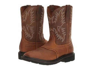 Ariat Sierra Wide Square Toe (Aged Bark) Cowboy Boots