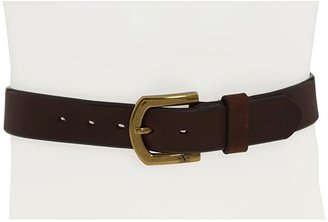M&F Western Strap Brass (Brown) Men's Belts