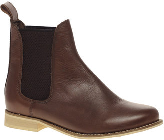 Asos ALIBI Leather Chelsea Ankle Boots
