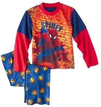 Spiderman Boys' 2-Piece Long-Sleeve Pajama Set