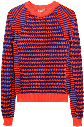 Kenzo Striped Knit Pullover