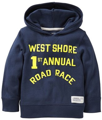 "Carter's road race"" pullover hoodie - toddler"