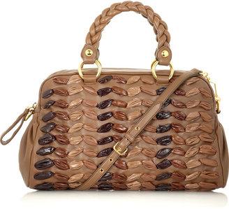 Miu Miu Ruched shoulder bag