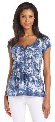 Calvin Klein Jeans Women's Tie Waist Henley