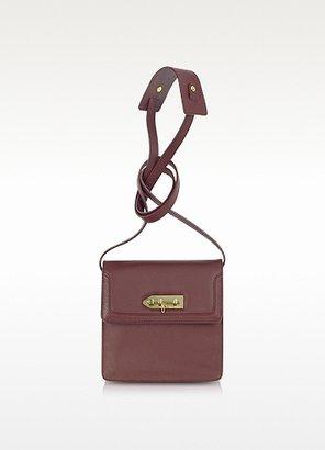 MySuelly Lola - Burgundy Calf Leather Shoulder Bag