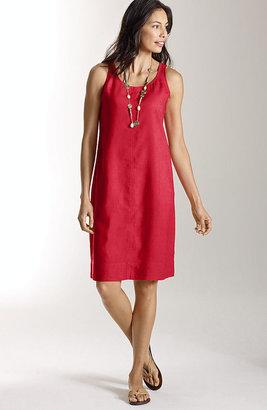 J. Jill Short linen tank dress