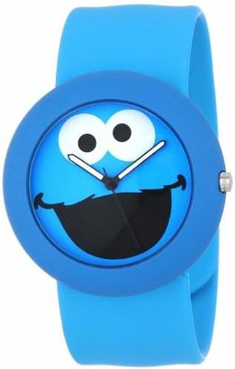 Sesame Street SW613CM Cookie Monster Slap Watch Case
