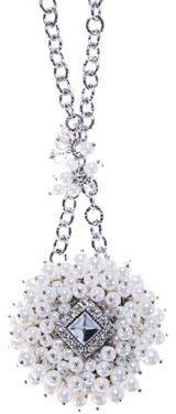Catherine Stein Ornate Pendant Necklace