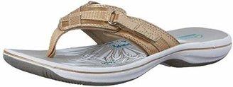 Clarks Women's Breeze Sea Flip-Flop $24.95 thestylecure.com