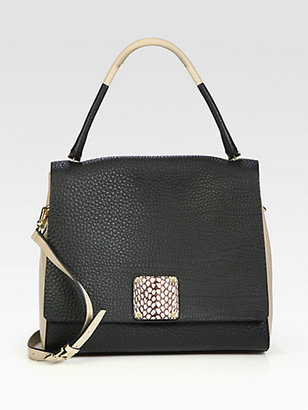Saks Fifth Avenue Furla Exclusively for Capri Medium Shopper