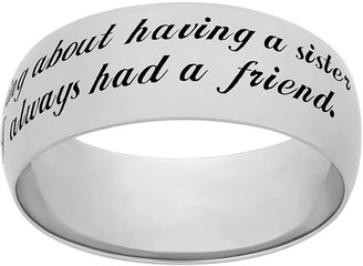 """Unbranded Sterling Silver """"Sister"""" Ring"""