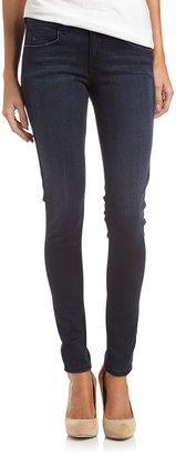 Fade to Blue Touch Stretch Dark-Wash Skinny Jeans, IYG