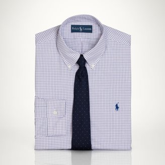 Polo Ralph Lauren Custom-Fit Checked Dress Shirt